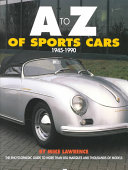 A to Z of Sports Cars  1945 1990