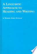 A Linguistic Approach to Reading and Writing