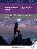 Frontiers in Materials  Rising Stars