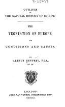 The Vegetation of Europe