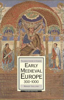 Early Medieval Europe  300 1000 Book