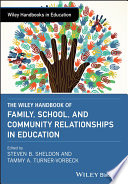 The Wiley Handbook of Family  School  and Community Relationships in Education Book