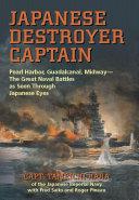 Japanese Destroyer Captain Pdf/ePub eBook
