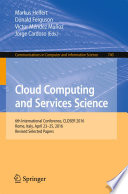 Cloud Computing and Services Science Book