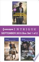 Harlequin Intrigue September 2015 Box Set 1 Of 2