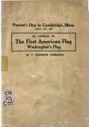 Patriot s Day in Cambridge  Mass Book