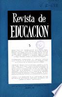Revista de educación nº 5