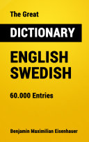 The Great Dictionary English - Swedish [Pdf/ePub] eBook