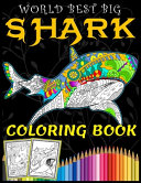 World Best Big Shark Coloring Book