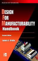 Design for Manufacturability Handbook