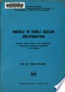 Anadolu ve Rumeli ağızları bibliyografyası