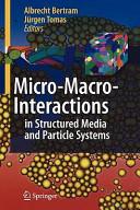 Micro Macro Interactions