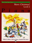 Alfred's Basic Piano Course Merry Christmas!, Bk 2