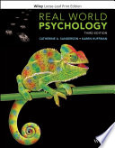 """""""Real World Psychology"""" by Catherine A. Sanderson, Karen Huffman"""
