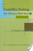 Usability Testing for Library Web Sites Book