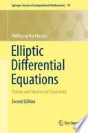 Elliptic Differential Equations Book
