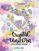 Crystal Unicorn Tarot Coloring Book