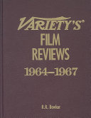 Variety's Film Reviews Pdf/ePub eBook
