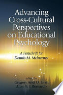 Advancing Crosscultural Perspectives On Educational Psychology