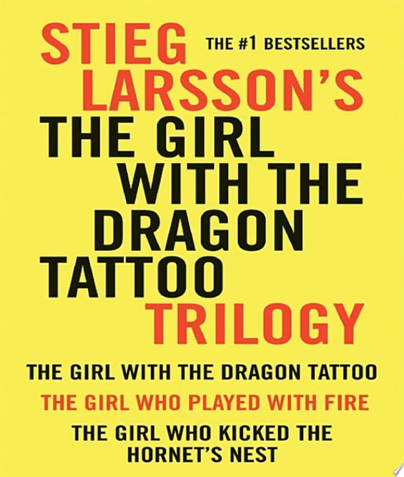 Girl with the Dragon Tattoo Trilogy Bundle image