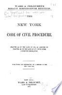 The New York Code Of Civil Procedure PDF