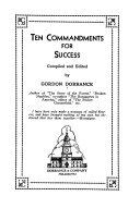Ten Commandments for Success