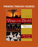 Thinking through Sources for Ways of the World Book