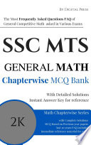 Math Chapterwise Solved Questions SSC MTS MULTI-TASKING STAFF