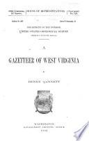 A Gazetteer of West Virginia