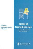 Yields of Farmed Species