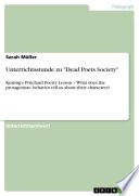 Unterrichtsstunde Zu Dead Poets Society