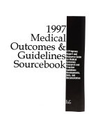 The Medical Outcomes   Guidelines Sourcebook Book