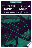 Problem Solving   Comprehension Book PDF