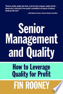 Senior Management And Quality