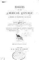 Makers of the American Republic