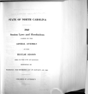 Session Laws and Resolutions Passed by the General Assembly Book