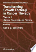 Transforming Growth Factor Beta In Cancer Therapy Volume Ii Book PDF
