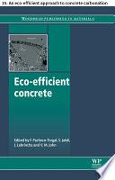 Eco efficient concrete Book