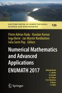 Numerical Mathematics and Advanced Applications ENUMATH 2017