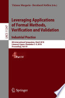 Leveraging Applications of Formal Methods  Verification and Validation  Industrial Practice Book