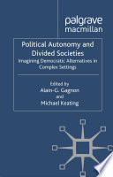 Political Autonomy and Divided Societies Pdf/ePub eBook
