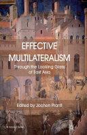 Effective Multilateralism