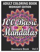 100 Basic Mandalas Midnight Edition