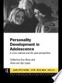 Personality Development In Adolescence PDF