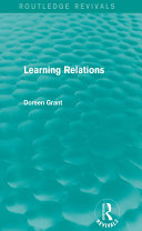Learning Relations (Routledge Revivals)