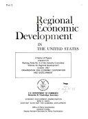 Regional Economic Development in the United States