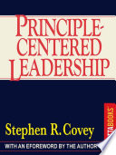 """Principle-Centered Leadership"" by Stephen R. Covey"