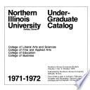 Undergraduate Catalog ...