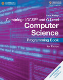 Pdf Cambridge IGCSE® and O Level Computer Science Programming Book for Python