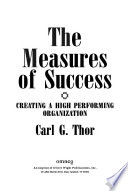 The measures of success